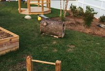 Natural playgrounds for infants