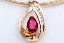 customer pear shape pendant