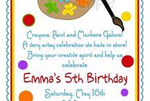 Maya's birthday ideas / by Marcy Schmeltz