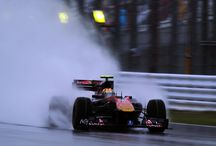 Rain and Formula 1 / Amazing pictures of Formula 1 over the rain