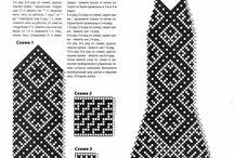 Crochet and knit hats / by Olesya Nizhegorodova