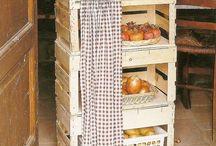 cesta de verduras de caixote de feira