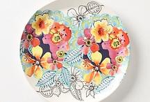 Pretty Plates/Silver/Crystal