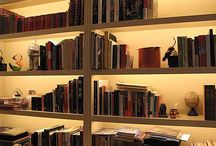lighting bookcase