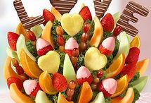fruits coloriés