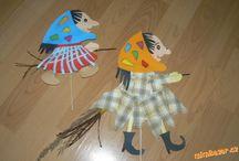 Dílnička pro děti - čarodějnice