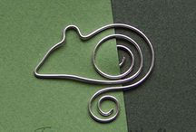 wire bookmark