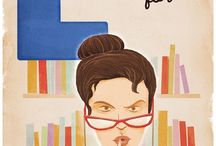 Library and books / by Tuula