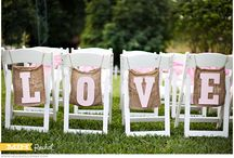 Weddings / Chair Treatments / Chair sashes and other adornments for your wedding!