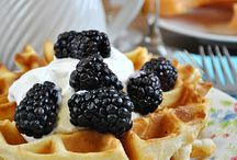 MEAL Waffle (Wednesday) / Breakfast recipes. Waffles, pancakes, quiche