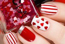 Nail Art - Valentines Day Nails