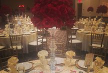 Weddings - Riverside Convention Center / Beautiful wedding celebrations here at the new Riverside Convention Center. Our boutique style Center and exquisite  catering expands the possibilities for the modern Bride & Groom.