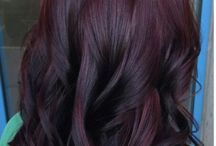 burgunty hair color