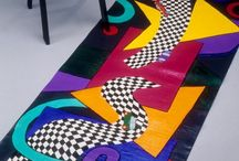 painted floor cloths and rugs