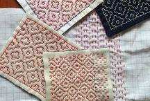 Sashimi embroidery