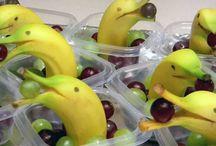 banane centrotavola