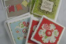 3 by 3 cards / by Terri Prestwich