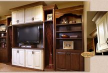Basement Transformation - Showplace Cabinets / Chesapeake and Pendleton Door Styles
