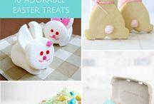 Páscoa / Ideias de decoração, brincadeiras e comidinhas de páscoa