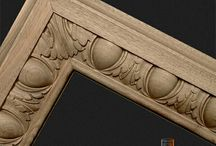 Wooden ornaments for exclusive interiors and historic renovations / We can make almost every kind of architectural ornaments.