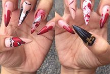 Nailed By Cristy / Nails done by me.  / by Maria Sanchez
