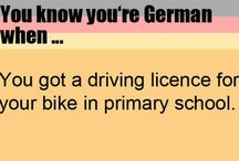 you know you are german when...