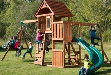 Swing and Play Sets / Fun in the yard!