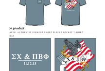 USA / Greek sorority and fraternity custom shirt designs featuring United States of America themes. For more information on screen printing or to get a proof for your next shirt order, visit www.jcgapparel.com