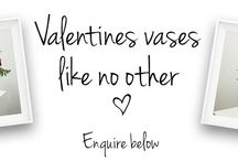 Valentines Vases