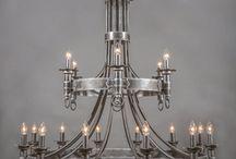 lustre ferro forjado
