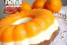 Yaş pastalar- Kekler& Wet cake&cake