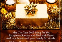 New Year Cards and Wishes