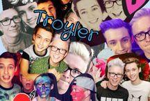 youtubers//troyler//zelfie