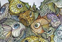 doodle zentangle