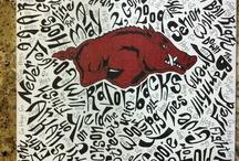 Razorback Stuff / Projects and Razorback stuff I like.  / by Dana Worstell