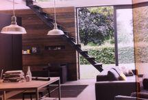 Trap / Trap keuken en woonkamer