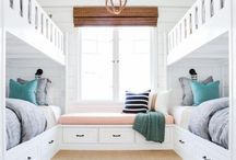 Beachy Bunk Room for the kids