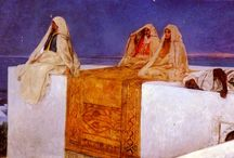 Orientalism / Orientalist painting was one of the many specialisms of 19th-century Academic art
