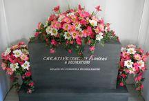 Grave flower ideas