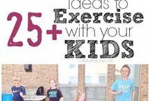 workout met kids