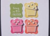 Cartes - build a cupcake / faire des petits gâteaux