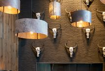 black steer interior decor