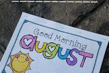 First Month of Kindergarten