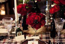 Plaid Lovers Wedding / Plaid plaid and more plaid! Perfect for fall or winter weddings.