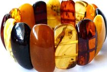 Multicolor Baltic Amber / Gorgeous one-of-a-kind creations in multicolor beads