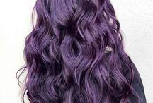 Păr violet