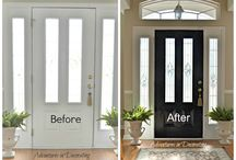 Entry Way Inspiration / Looking to spruce up your Entry Way? Here are some great Tips!