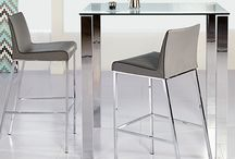 Bar by Euro Style / We make modern design easily available to all. The elements are simple, colors and shapes that come together to form beautiful room groupings.