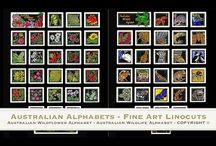 Linocut Tutorial Videos / Handpainted Limited Edition Fine Art Linocut Tutorial videos by Lynette Weir