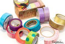 Masking tape deco